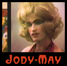 Jody-May, drag queen  from Jellovision